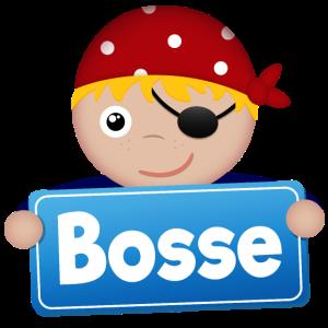 Kleiner Pirat Bosse