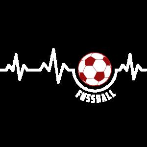 Heartbeat - Fussball (Fußball Design)