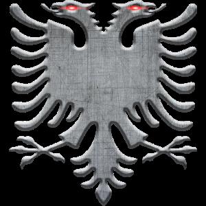 Albanischen Adler Eisen