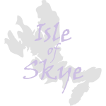 Isle of Skye Map & text 2