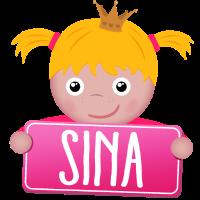 Kleine Prinzessin Sina