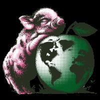 Vegan-Schweinchen