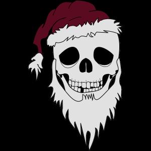 weihnachten skull