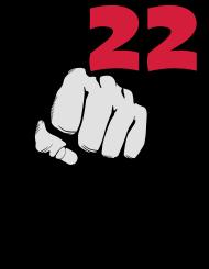 20. Geburtstagsshirt: 22 - Das Alter schlägt zu
