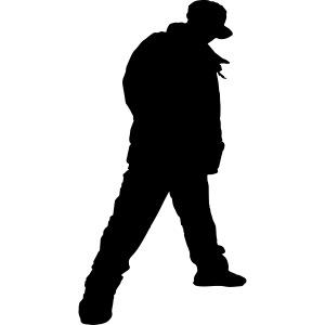 Soops B-boy Silhouette Logo