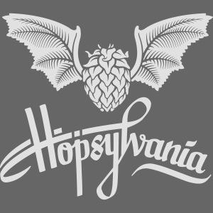 Hopsylvania logo white