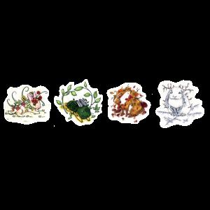 Jahreszeiten-Bunnies