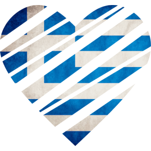 Greece Heart