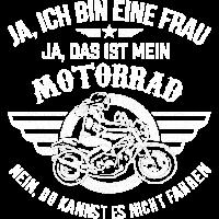 Motorrad Frau Bikerin
