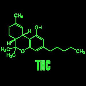 THC-Molekül