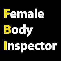 Weiblicher Körper-Inspektor