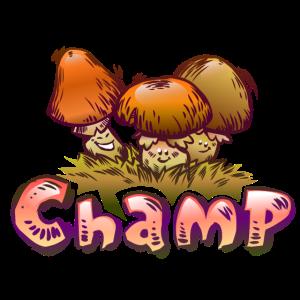 Lustige Pilze cartoon