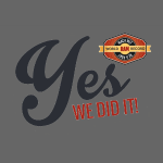 YES-we did it_black