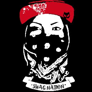 mundschutz cool Gangster Rapp streetart skater RAP