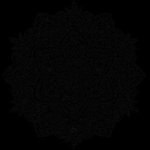Mandala, handgezeichnet