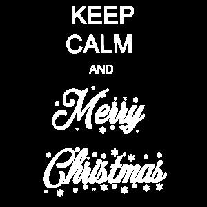 Bleib 'ruhig und frohe Weihnachten