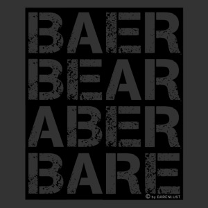 BEAR BARE is your own fun