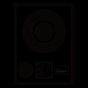 Kynda Musik-Schwarz-Plakette