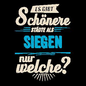 Heimat Stadt - Siegen - blau retro - RAHMENLOS