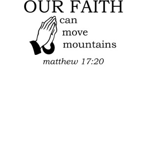 'OUR FAITH' t-shirt