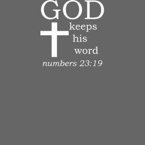 'GOD' t-shirt (white)