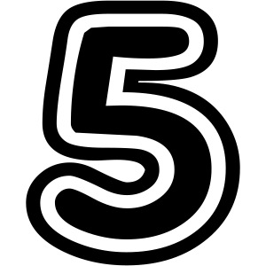 cool number 5