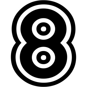 cool number 8