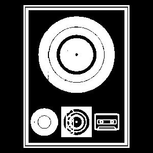 Kynda Musik Plaque wht