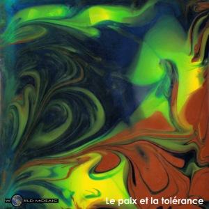 TIAN GREEN Mosaik CH080 - Le paix et la toerance