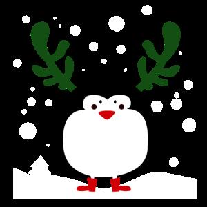 Weihnachtspinguin 1