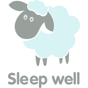 Sleep well blue