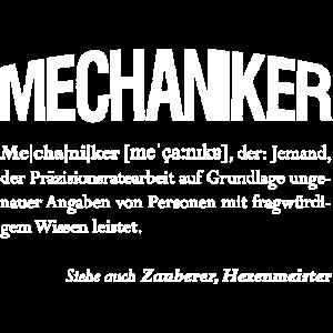 Mechaniker, auch Zauberer genannt Geschenk