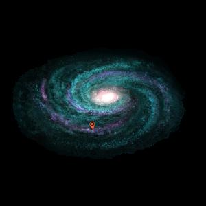Galaxie - Türkis