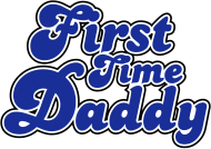 Vatertag Shirt: FIRST TIME DADDY COLORS
