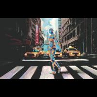 Cyborg in New York