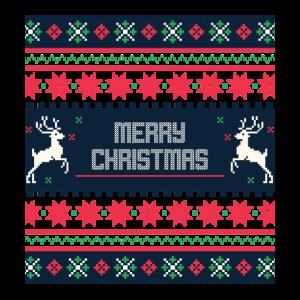 christmas weihnacht strick muster rauten hirsch st
