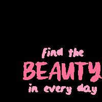 Finden Sie die Schönheit