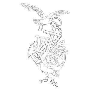Encre oiseau