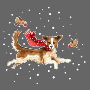 Suza met sneeuwvlokken