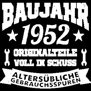 1952 Baujahr Geburtsjahr
