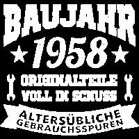 1958 Baujahr Geburtsjahr