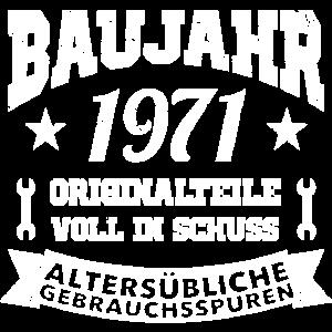 1971 Baujahr Geburtsjahr