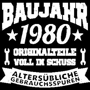 1980 Baujahr Geburtsjahr
