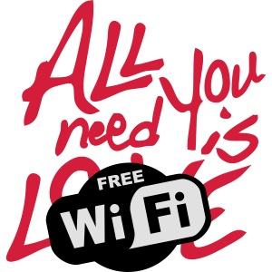 all you need is free WiFi