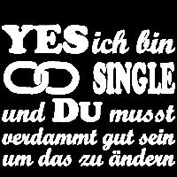 yes ich bin single