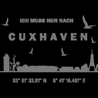 Therapie Cuxhaven - Ich muss nur nach Cuxhaven... - Wurster Nordseeküste,Windmühle,Wasserturm,Wasser,Urlaub,Strand,Skyline,Schiffe,Radar,Nordsee,Nord,Moin Moin,Meer,Koordinaten,Kirche,Gps,Fernsehturm,Duhnen,Cuxland,Cuxhaven,Bremerhaven,Alte Liebe
