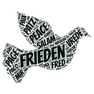 Frieden Taube Peace Pace Mir