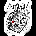 wesen mit herz und logo