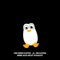 Pinguin für Morgenmuffel