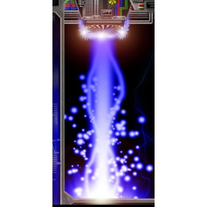 Hyperspace Potato Beam Phone Case